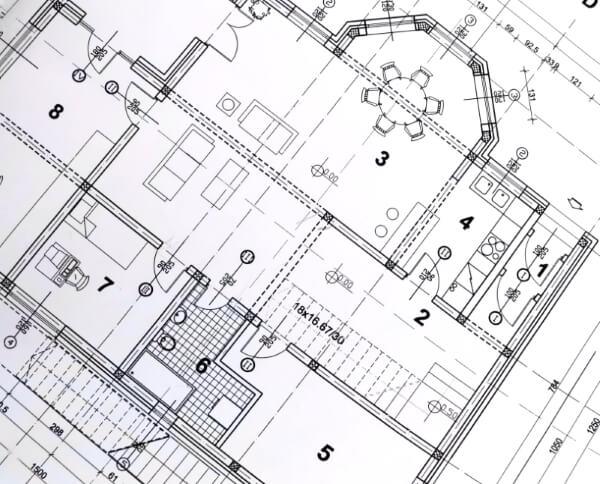 tekening woning eerste verdieping